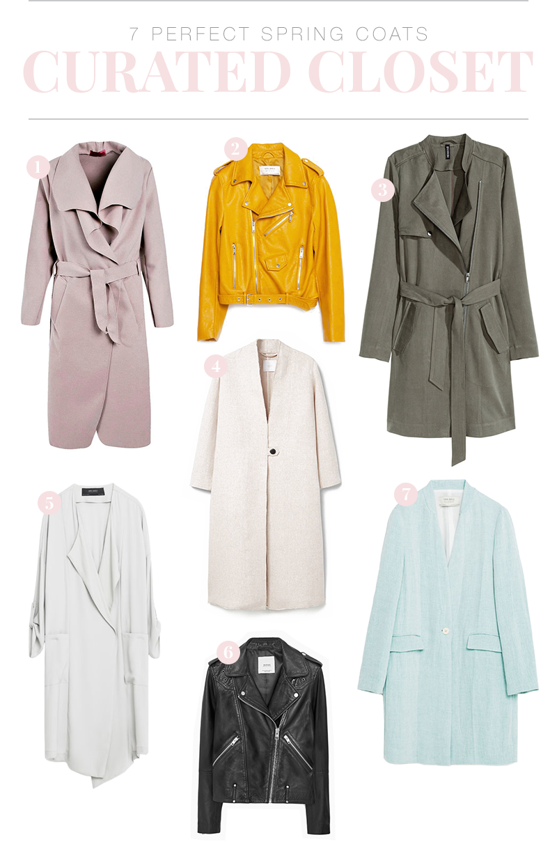5 Perfect Spring Coats to add to your closet! | www.wovenwithgold.com