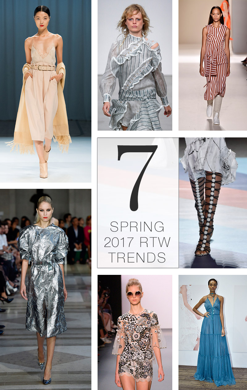 7 Spring 2017 RTW Trends to Incorporate in Your Wardrobe Now