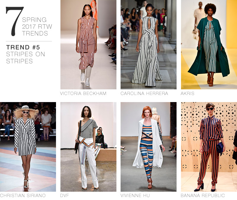 7 Spring 2017 RTW Trends to Incorporate in Your Wardrobe Now | Trend #5: Stripes on Stripes