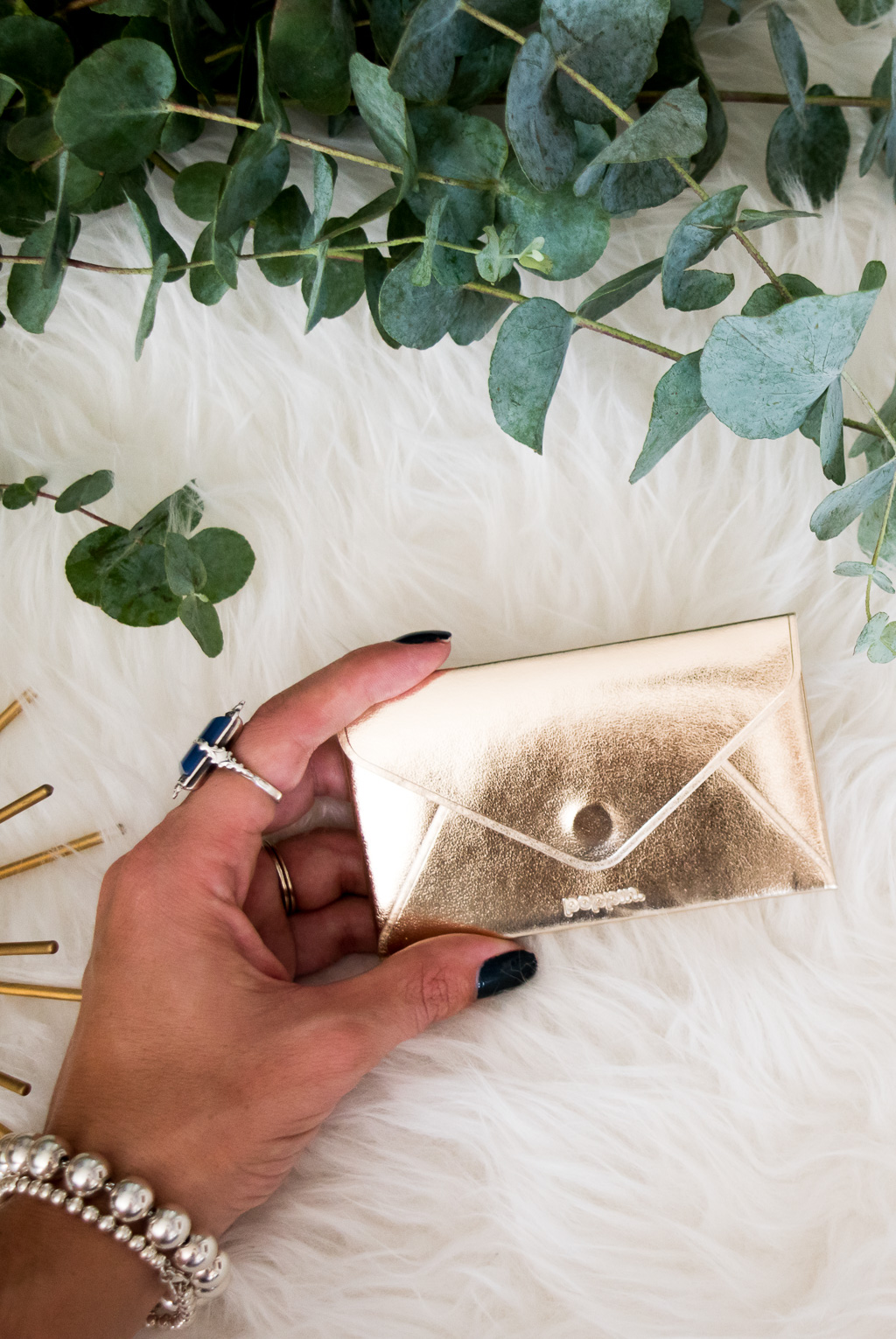The Best Wallet for Small Purses and Bags | The Poppin Gold Card Case can be used as wallet that will fit in any bag