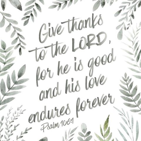 Giving thanks for all that He has given Happy Thanksgiving!